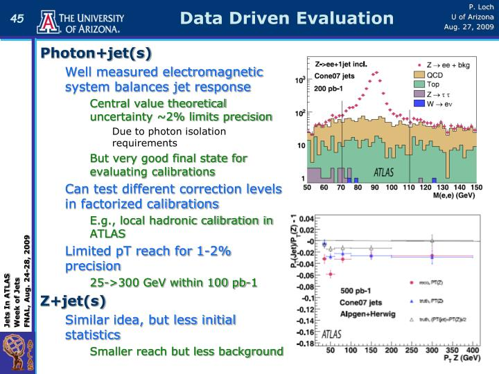 Data Driven Evaluation