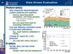 data driven evaluation1