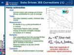 data driven jes corrections 1