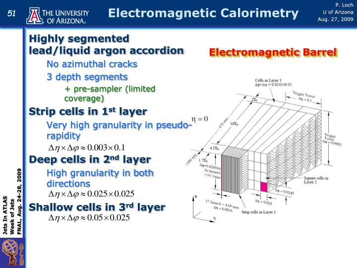 Electromagnetic Calorimetry