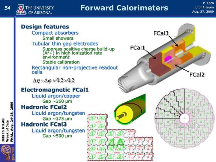 Forward Calorimeters