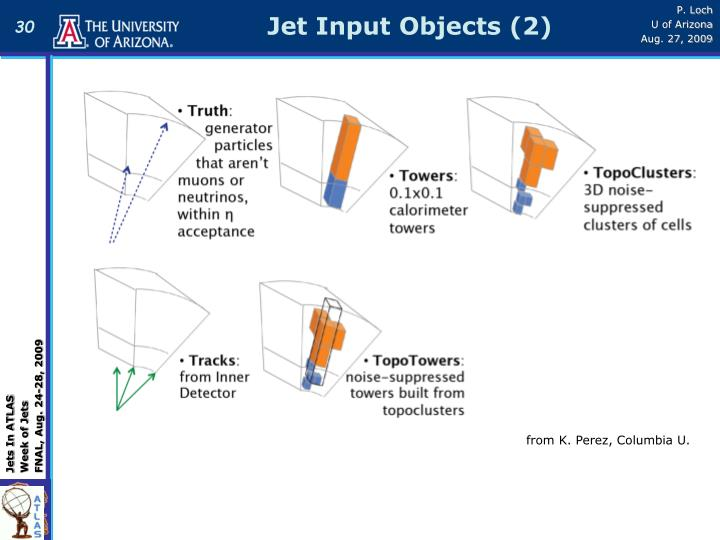 Jet Input Objects (2)