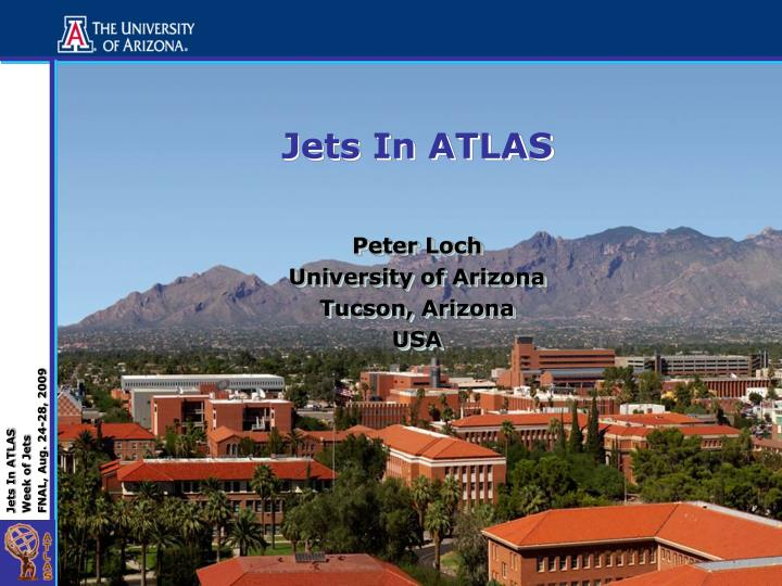Jets in atlas