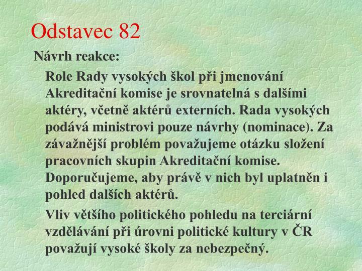 Odstavec 82