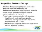acquisition research findings1