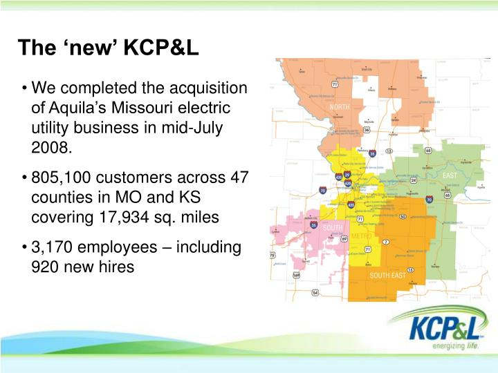 The 'new' KCP&L