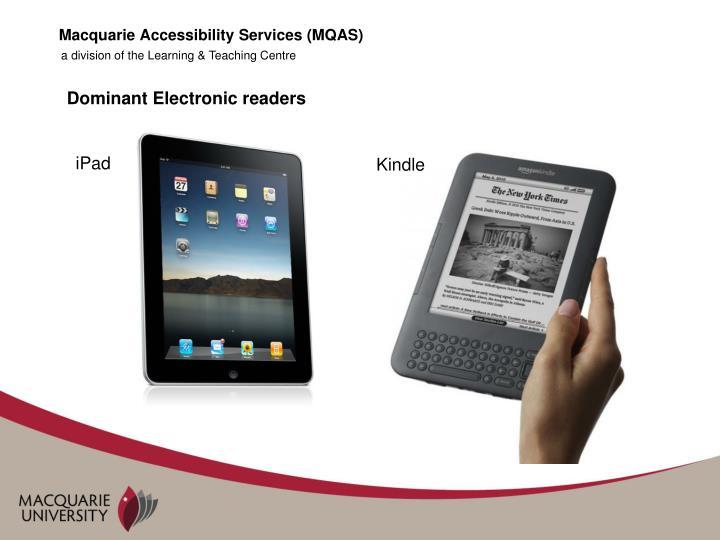 Macquarie Accessibility Services (MQAS)