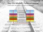 das osi modell funktionsweise