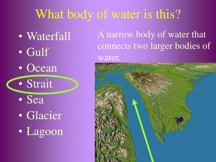 What body of water is this?
