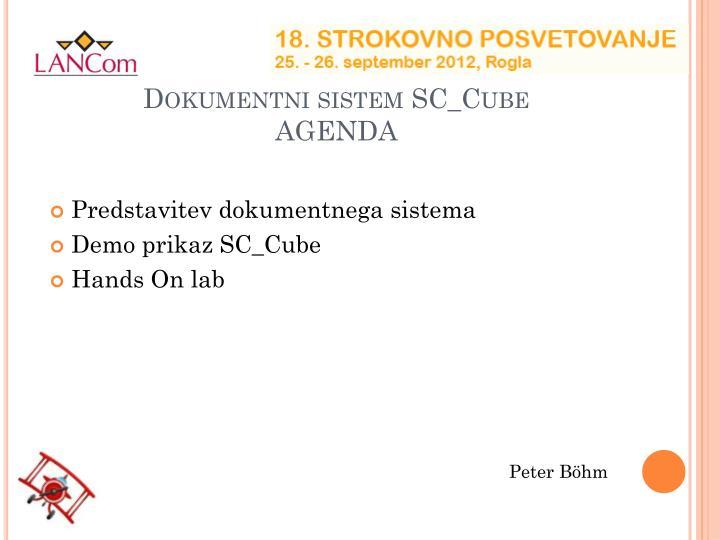 Dokumentni sistem SC_