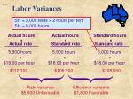 labor variances1
