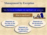 management by exception1