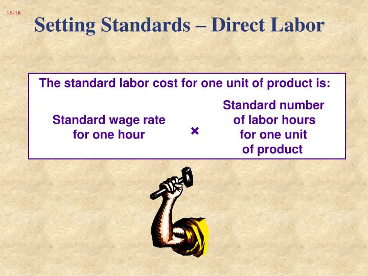 Setting Standards – Direct Labor