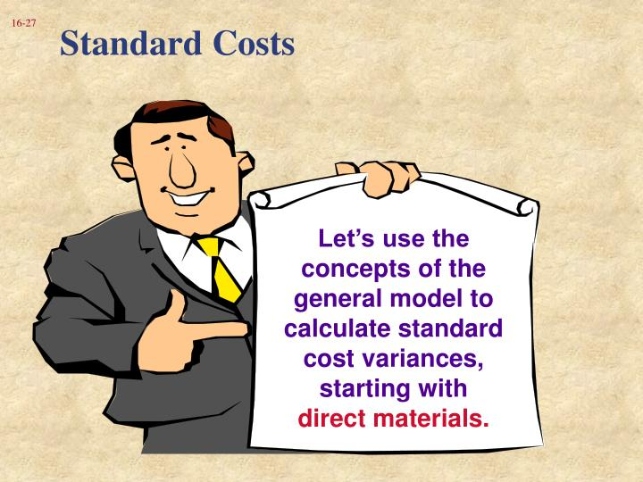 Standard Costs