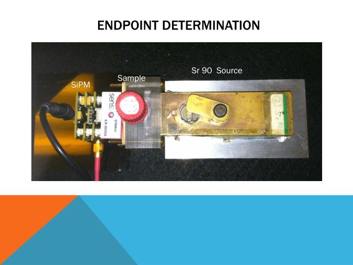 Endpoint determination