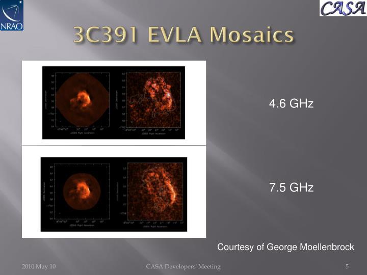 3C391 EVLA Mosaics