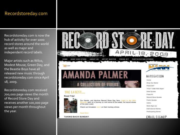 Recordstoreday.com