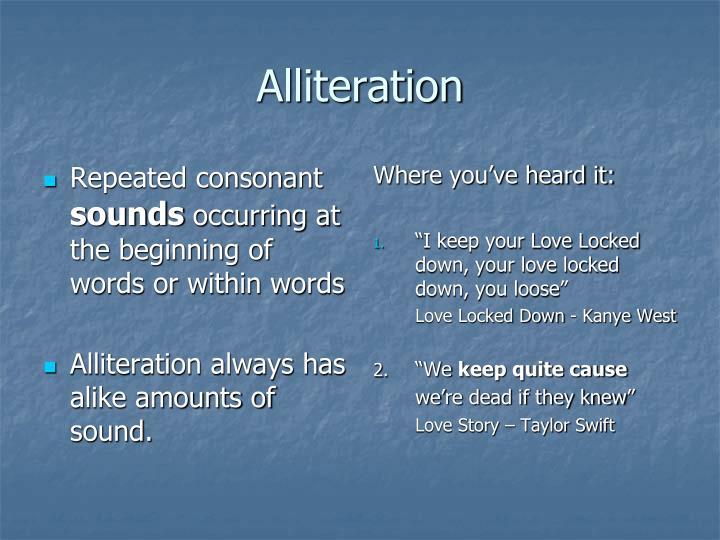 Repeated consonant