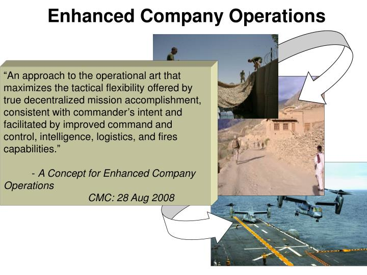 Enhanced Company Operations