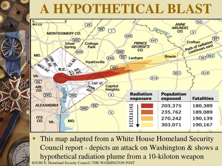 A HYPOTHETICAL BLAST