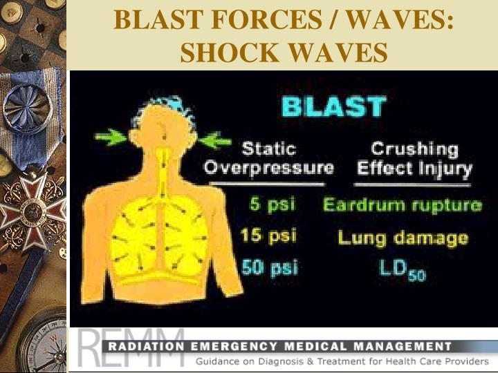 BLAST FORCES / WAVES: SHOCK WAVES