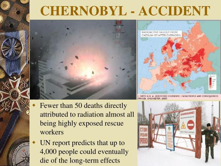 CHERNOBYL - ACCIDENT