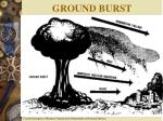 ground burst