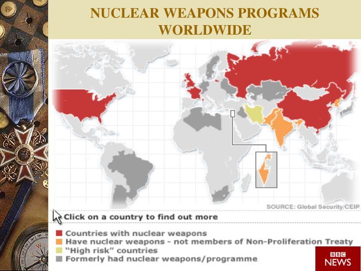 NUCLEAR WEAPONS PROGRAMS WORLDWIDE