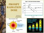 prompt radiation dose