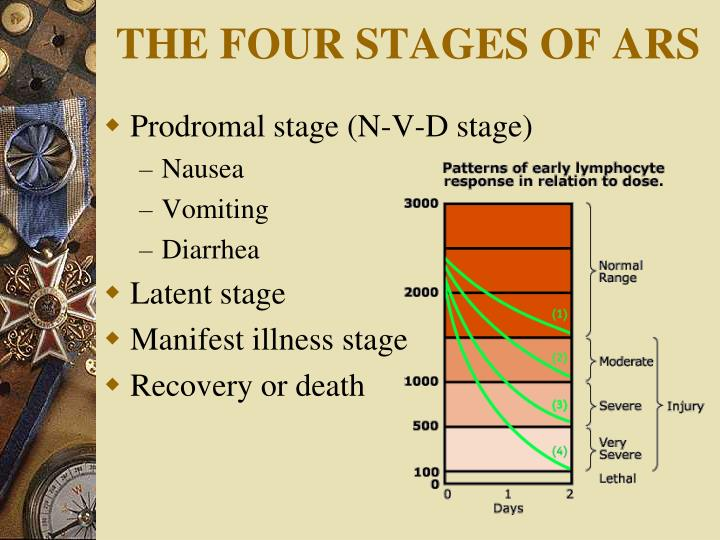 THE FOUR STAGES OF ARS