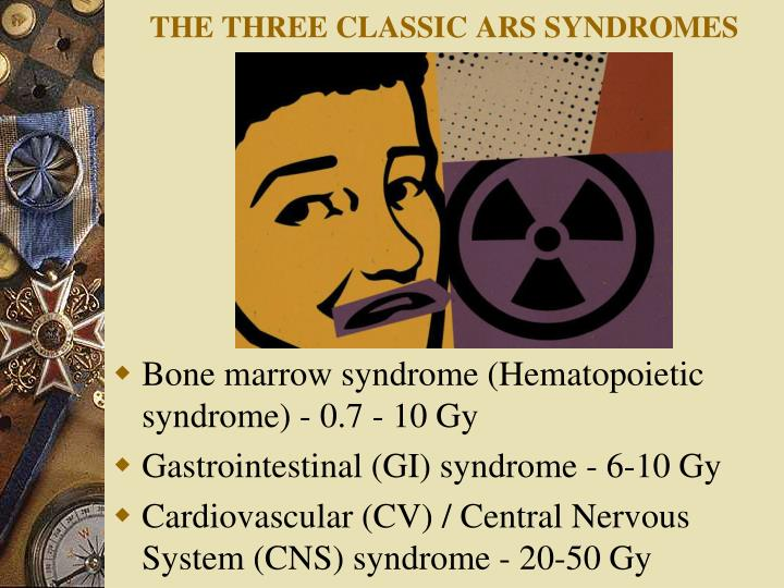 THE THREE CLASSIC ARS SYNDROMES