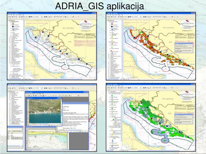 ADRIA_GIS aplikacija