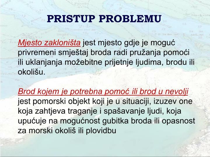 PRISTUP PROBLEMU