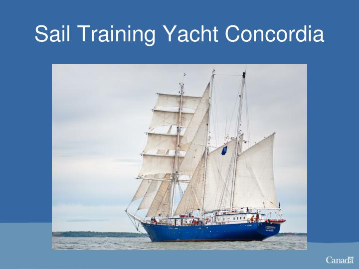 Sail Training Yacht Concordia
