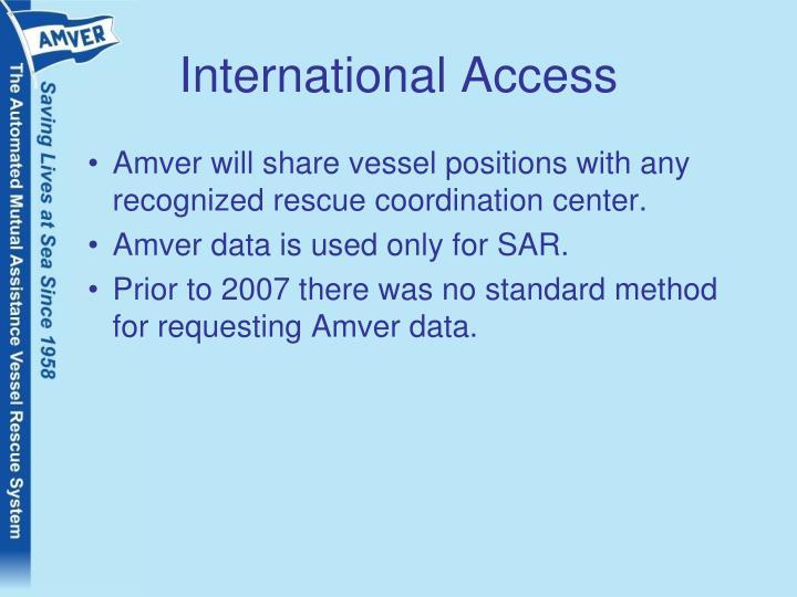 International Access