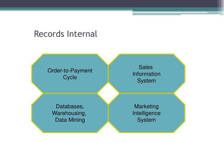 Records internal