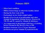 primary hdn