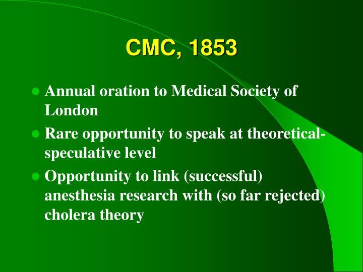 CMC, 1853