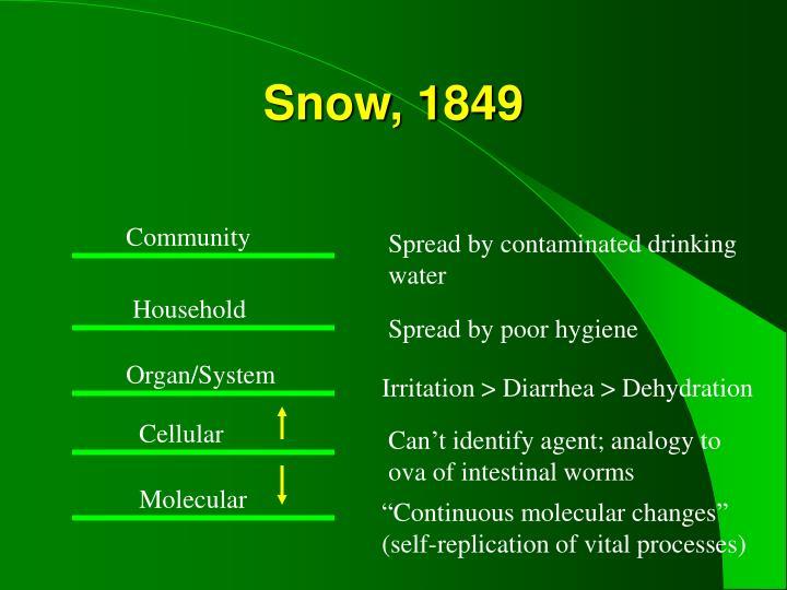 Snow, 1849