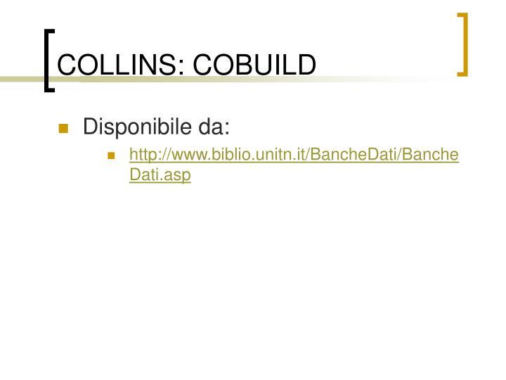 COLLINS: COBUILD