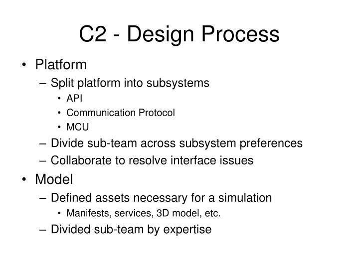 C2 - Design Process