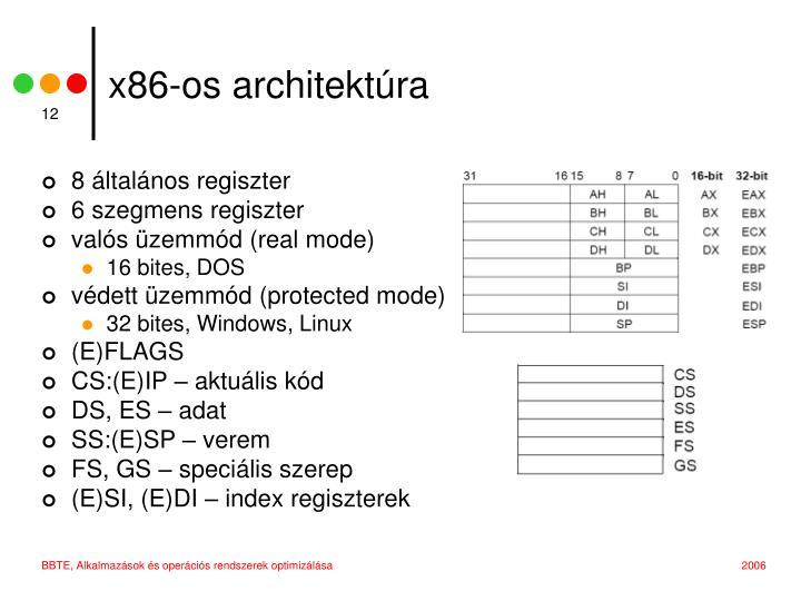 x86-os architektúra