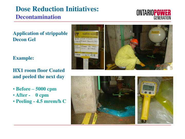Dose Reduction Initiatives:
