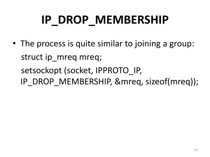 IP_DROP_MEMBERSHIP