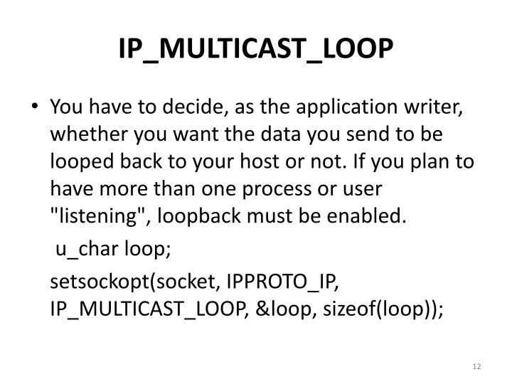 IP_MULTICAST_LOOP