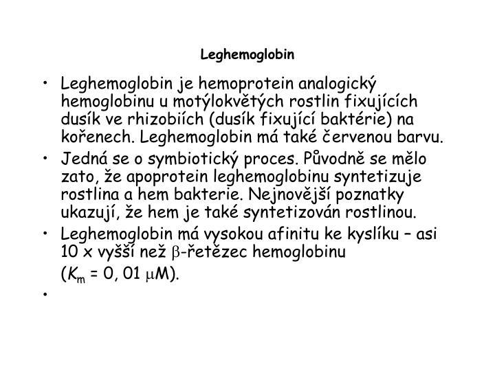Leghemoglobin