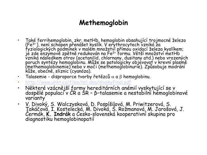 Methemoglobin