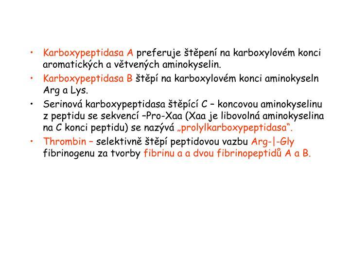 Karboxypeptidasa A