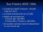 bus firewire ieee 1394
