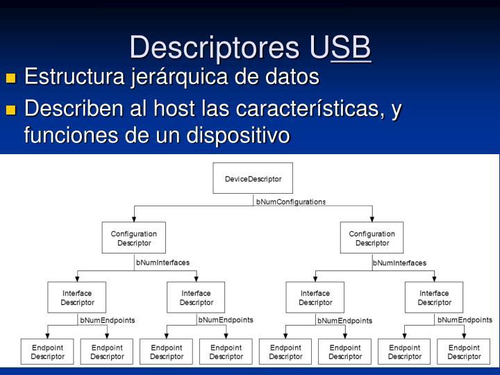 Descriptores U